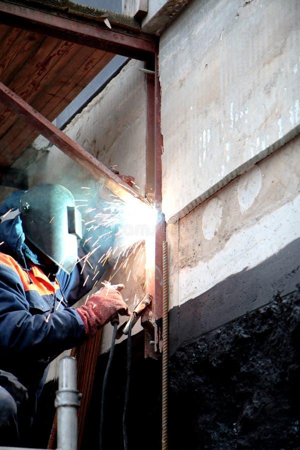 workman royaltyfria bilder