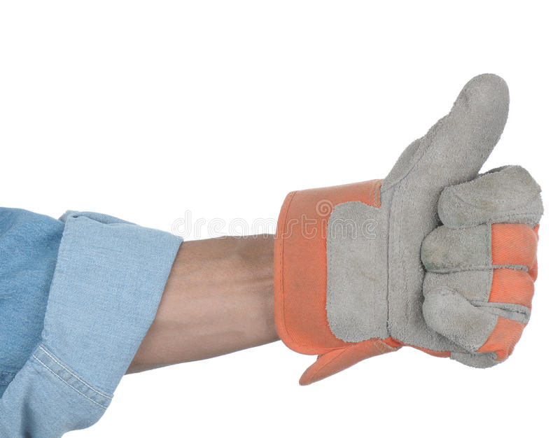 Workman Thumbs Up Royalty Free Stock Photography