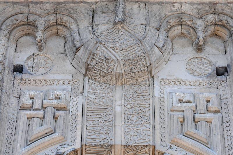 Workmanship камня периода Seljuk стоковое изображение rf