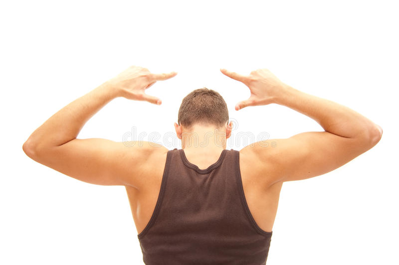 After workout stock photography