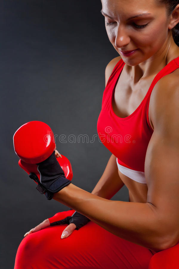 Download Workout stock image. Image of body, human, female, adult - 26241729