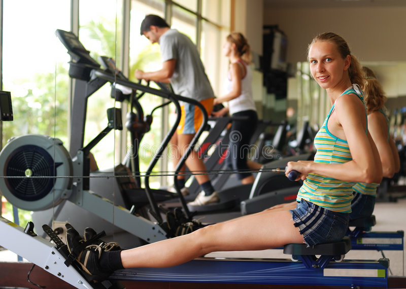Download Workout stock photo. Image of cycling, female, action - 3312764
