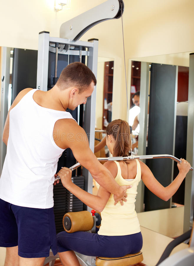 Download Workout on facilities stock image. Image of facility - 30953987