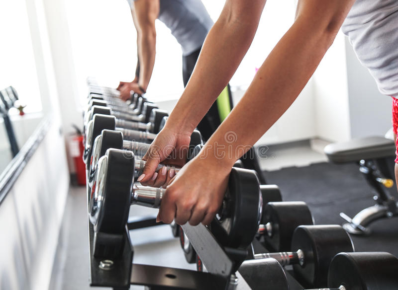 Workout fitness stock photo