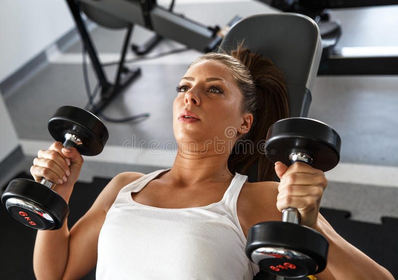 Workout fitness royalty free stock images