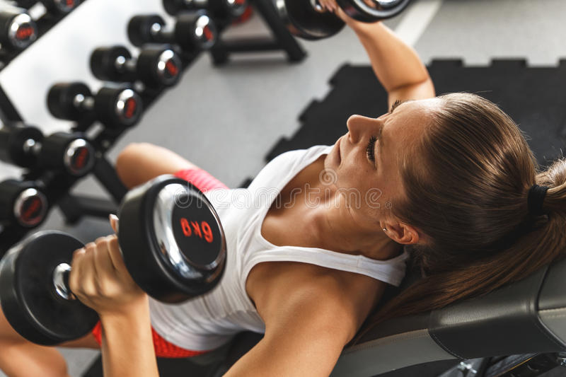 Workout fitness royalty free stock photo