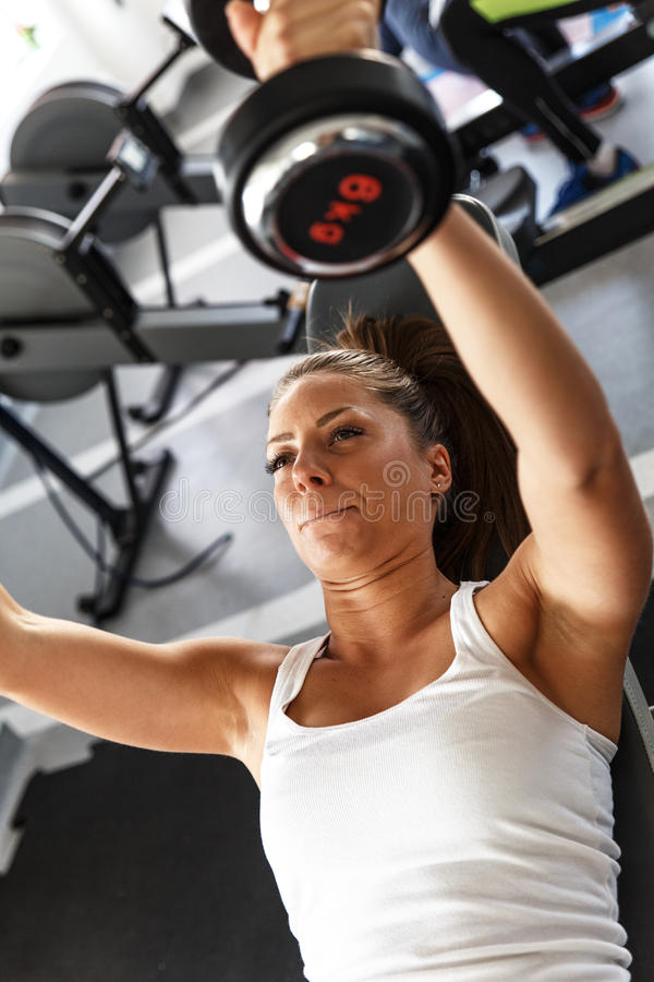 Workout fitness royalty free stock image