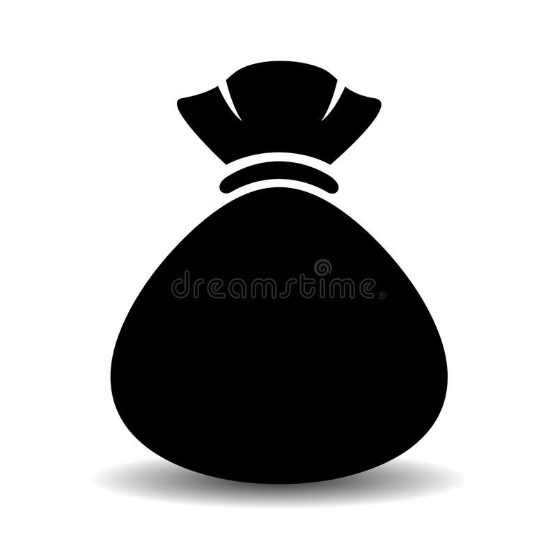 Workowa torby ikona ilustracja wektor