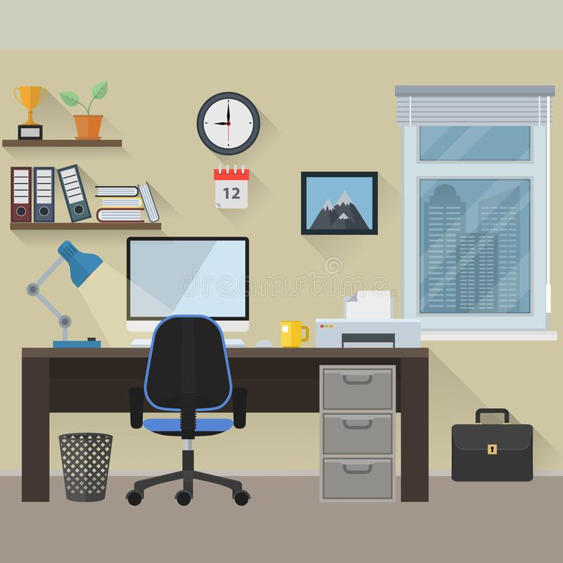 workplace libre illustration