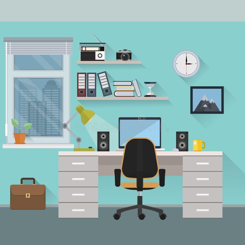 workplace stock de ilustración