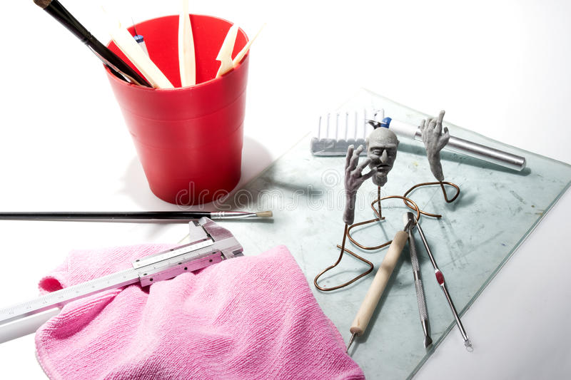 Download Workplace stock image. Image of sculptor, creativity - 29015983