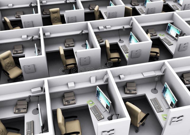 workplace illustration de vecteur
