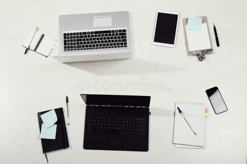 workplace fotografie stock