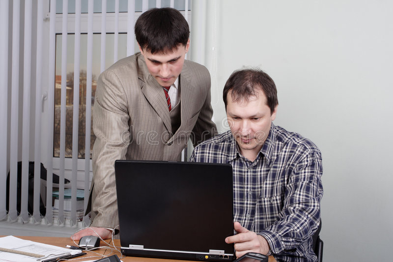 Workplace business2 stock photography