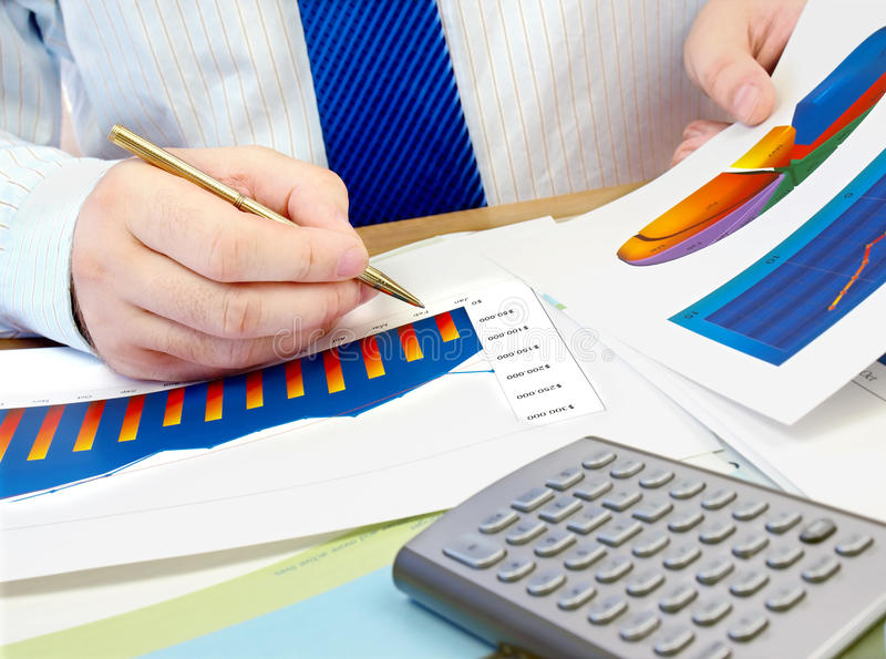Download Workplace Businessman. Stock Photography - Image: 20608682