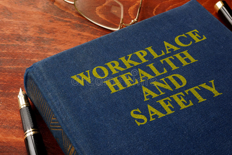 Workplace health and safety WHS. stock image