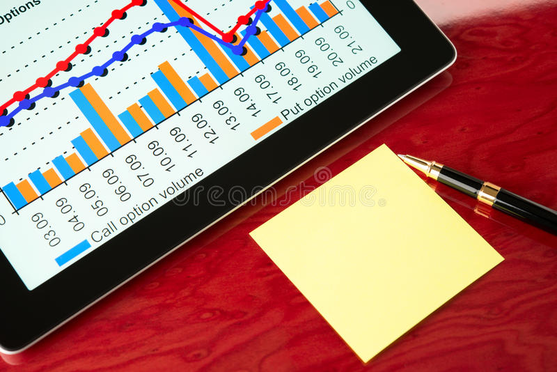 Download Workplace Of Modern Businessman Stock Photo - Image: 26923948