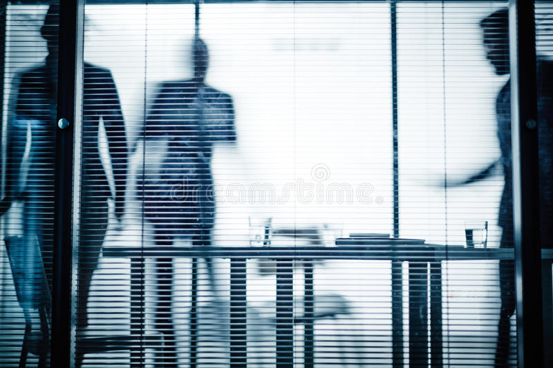 Workplace in office stock photos