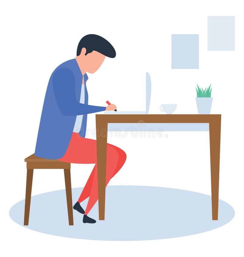 workplace illustrazione vettoriale