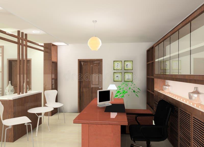 Download Workroom design stock illustration. Illustration of warm - 10595216