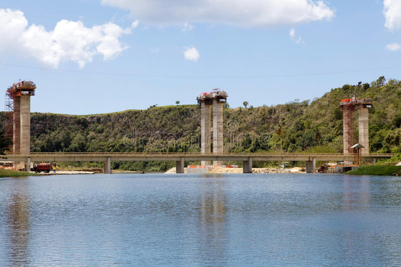 Download Works for the highway editorial photo. Image of bridge - 24343656