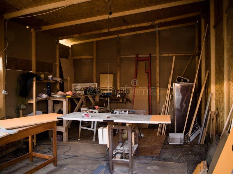 Download Workshop stock image. Image of wood, messy, work, baseboard - 4846859