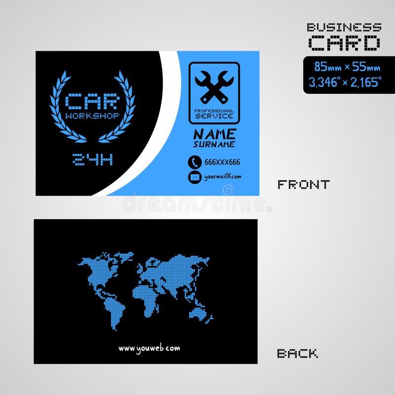 Workshop car business card stock vector illustration of creative download workshop car business card stock vector illustration of creative 100823447 colourmoves