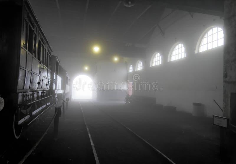 Download Workshop in the Fog stock image. Image of brick, america - 1335989