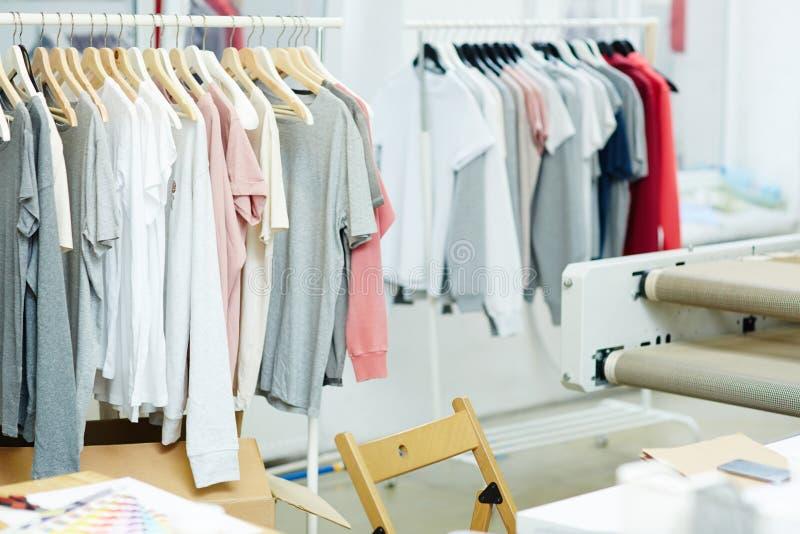 Workshop van kleren royalty-vrije stock fotografie