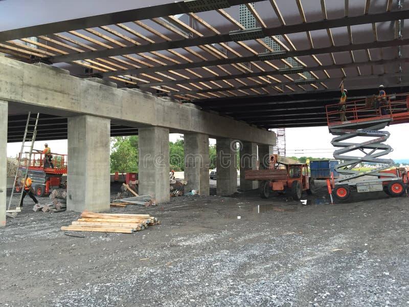 Worksite моста стоковая фотография rf