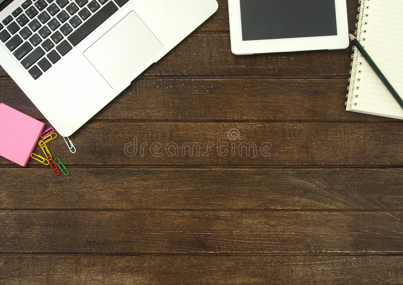 Download Workspace fotografia stock. Immagine di finanziario, sopra - 55356656