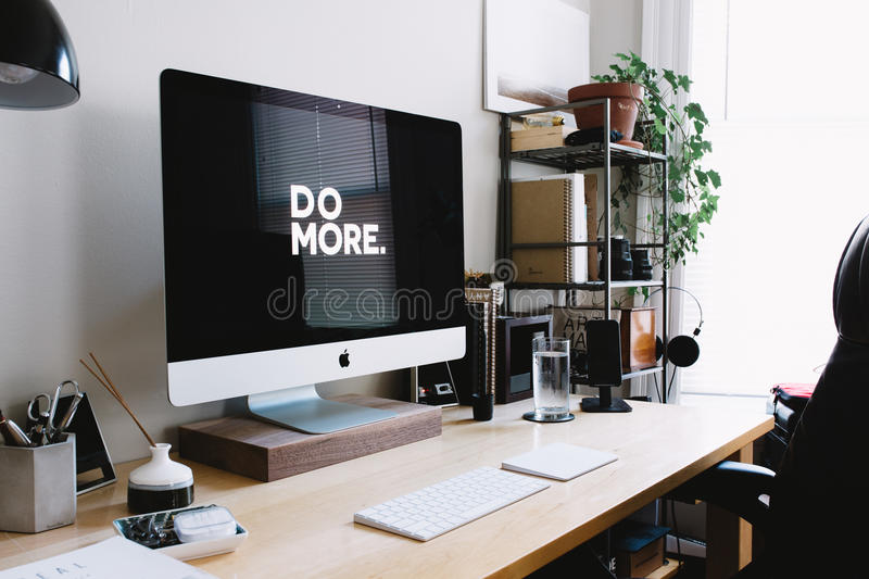 Download Workstation stock photo. Image of station, furniture - 88983010