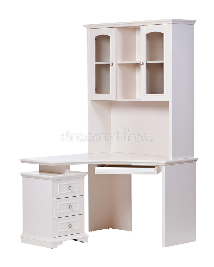 Download Workstation Over White, With Clipping Path Stock Photo - Image: 21527290