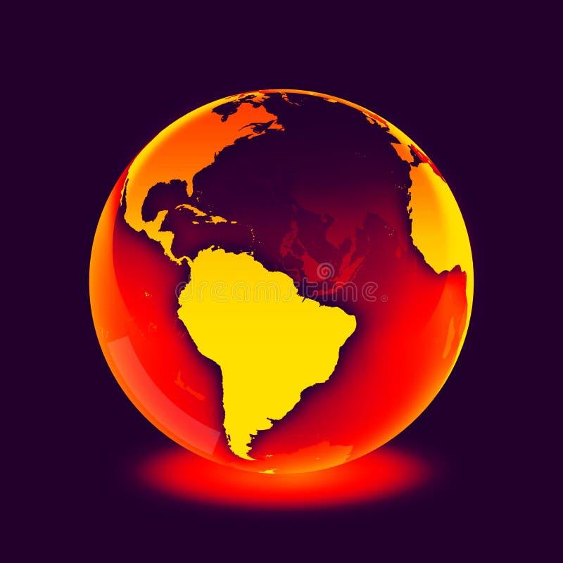 World. Globe. globe. .  illustration.  icon royalty free illustration