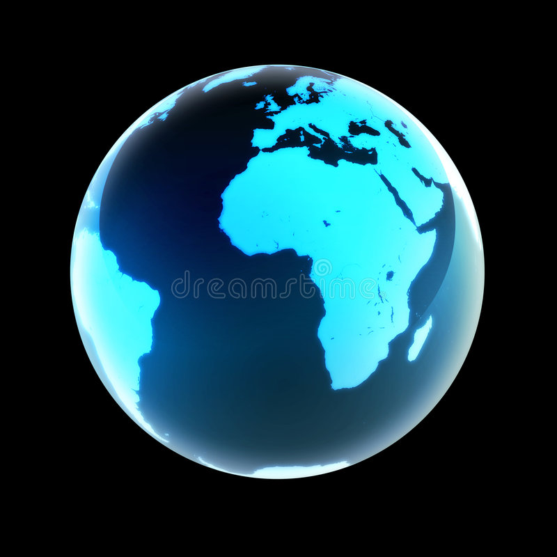 Download World stock illustration. Image of ocean, continent, land - 1422833