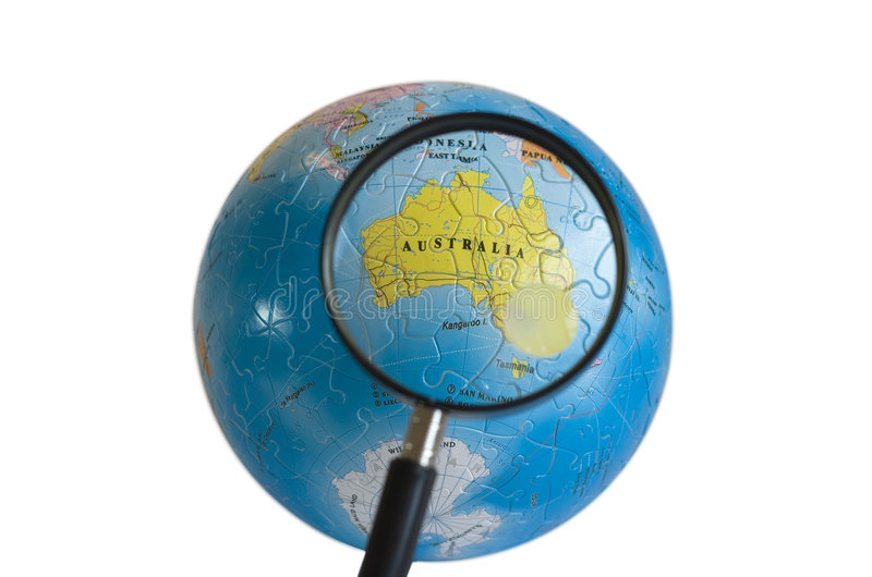 Download World 3D Puzzle (Australia) Stock Image - Image of planet, eastern: 154445