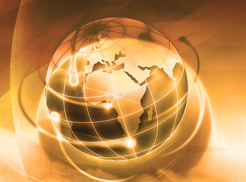 Download World stock illustration. Image of global, call, future - 9260488
