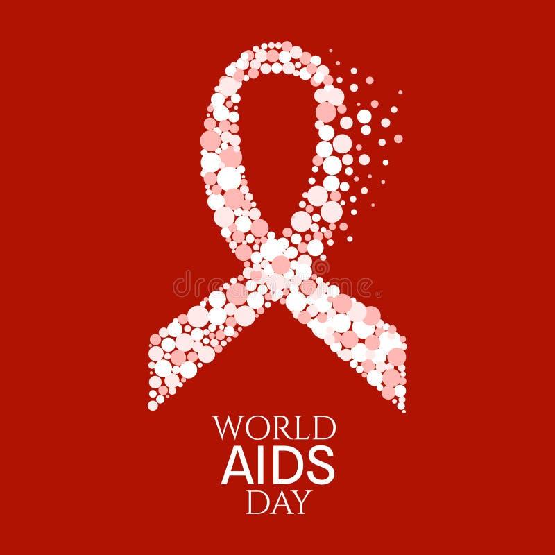 World Aids Day Poster Stock Illustration Illustration Of Disease
