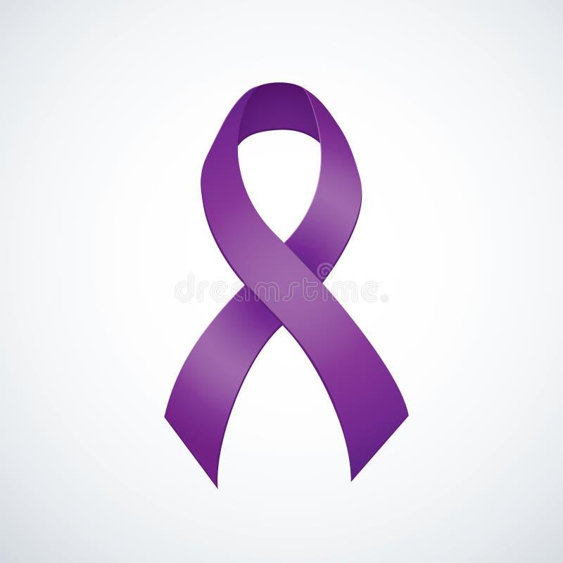 World AIDS symbol vector illustration
