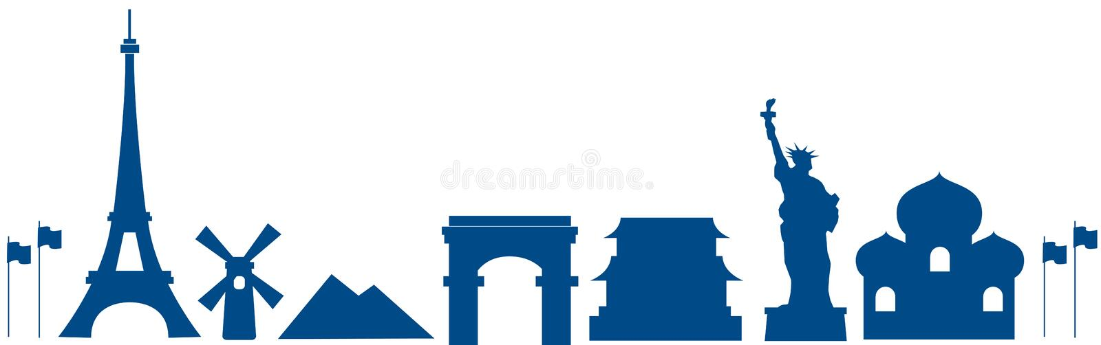 Download World architecture stock illustration. Image of france - 12006605