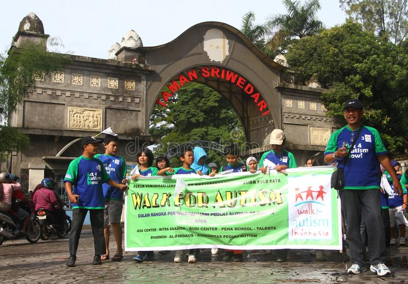 Download World Autism Day In Indonesia Editorial Photography - Image: 32401377