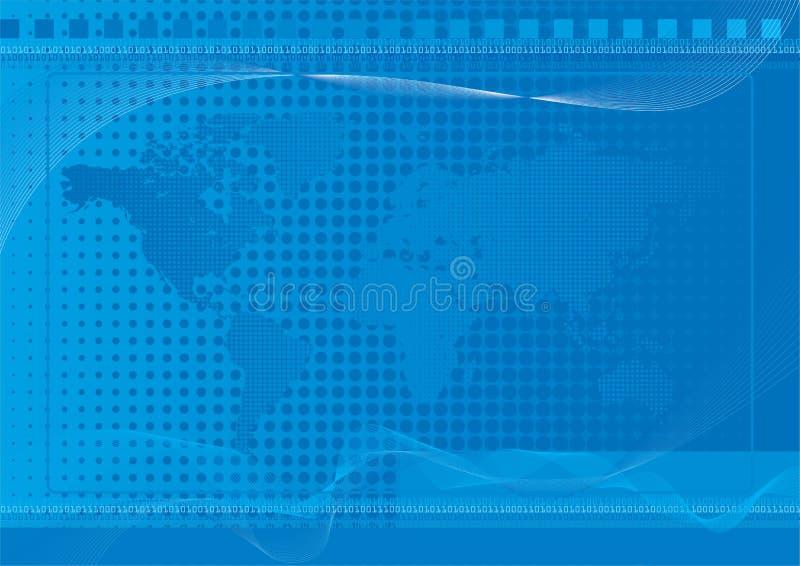 World Background Blue stock photos