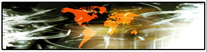 World banner vector illustration