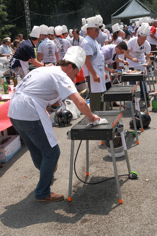 Download World Barbeque Championship 2009 Editorial Stock Photo - Image: 9951693