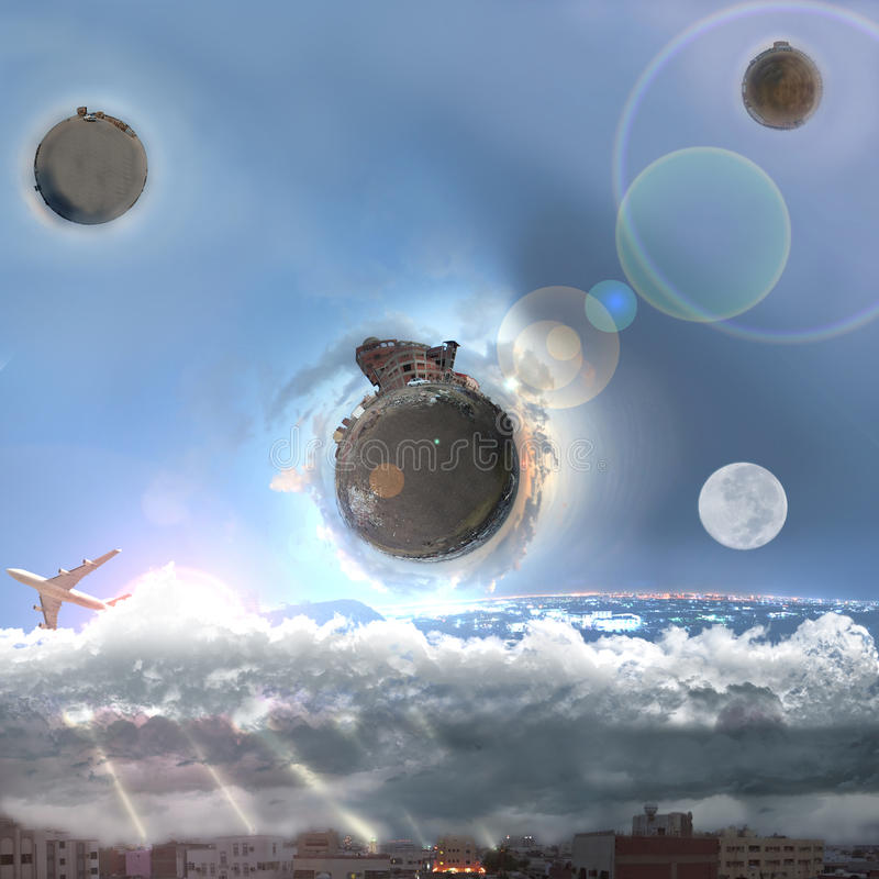 Download World From Beyond Imagination Stock Illustration - Image: 25542987