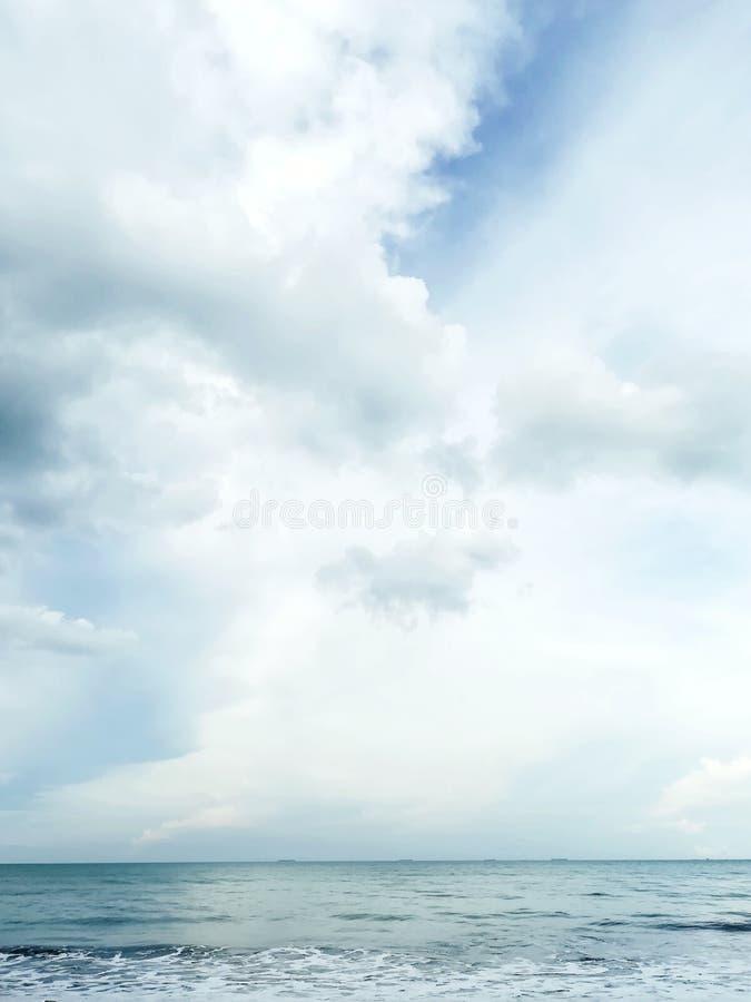 A Peek into the Horizon stock images