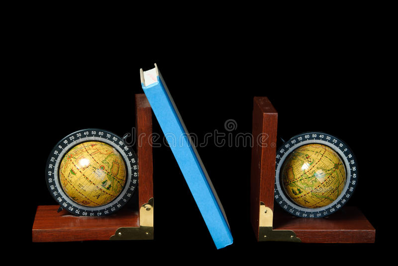 World Bookends royalty free stock photography