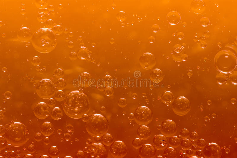 World of bubbles. Air, water and oil mixed for a bubbly effect royalty free stock photography