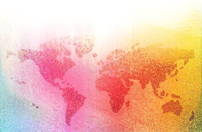 World bussiness background royalty free illustration