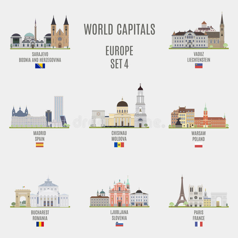 Free World Capitals Stock Images - 62832984